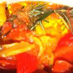 Poivrons marinés</br> à la provençale