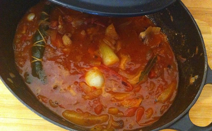 Encornets au paprika