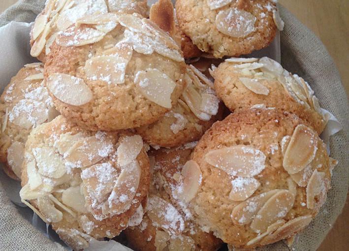 Biscuits Amaretti, </br>gourmandise quand tu nous tiens…